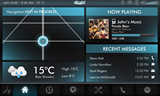 QNX CAR Infotainment Main menu