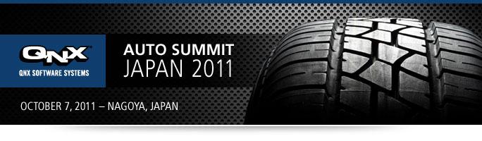 Qnx Automotive Summit Japan